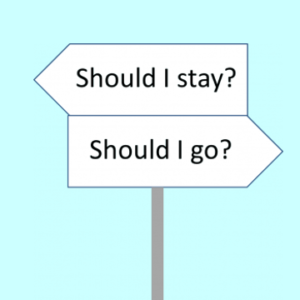 Marriage - stay or go